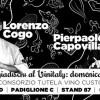 Il Mangiadischi allo stand del Custoza per Vinitaly 2013