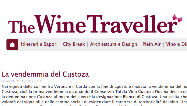 Il Custoza su The Wine Traveller