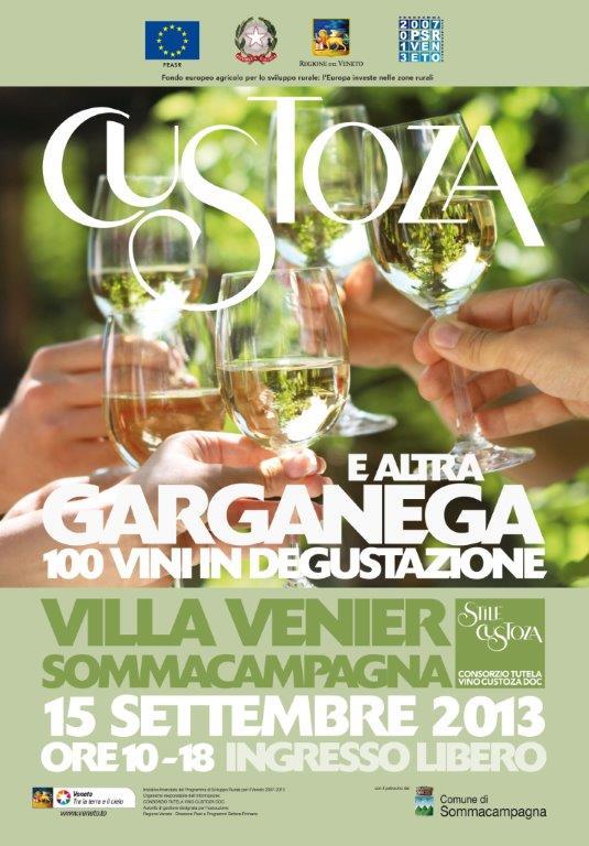 locandina CUSTOZA E ALTRA GARGANEGA - VILLA VENIER 2013